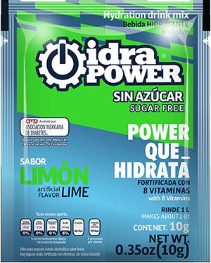 idrapower-sinazucar-10glimon